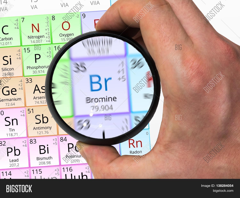 Bromine Symbol Br Image Photo Free Trial Bigstock