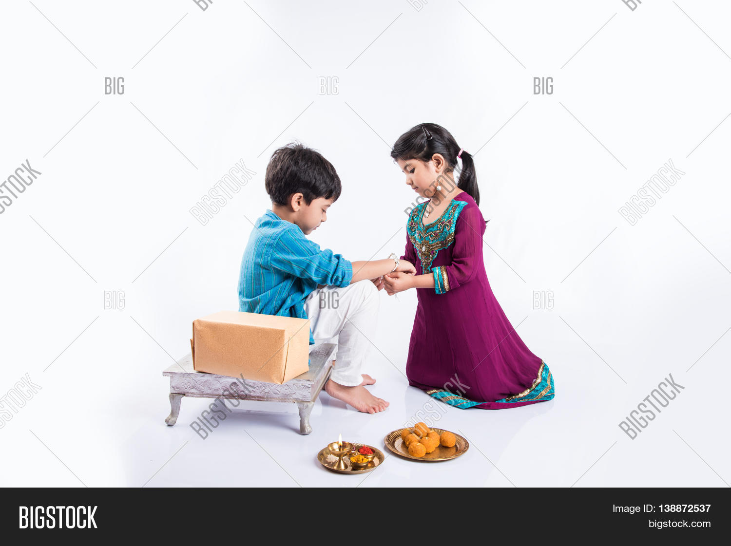 Cute Indian Sister Image Photo Free Trial Bigstock