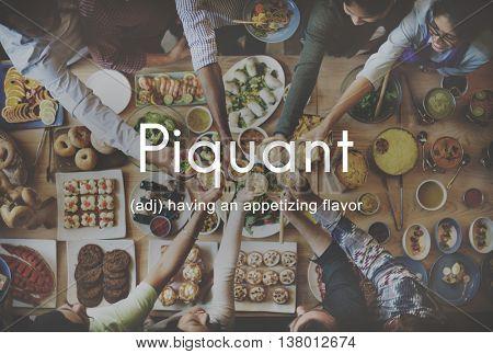 Food Piquant Delicious Cuisine Appetizing Concept