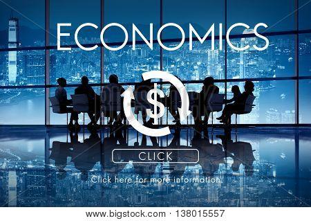 Financial Business Economics Cycle Concept