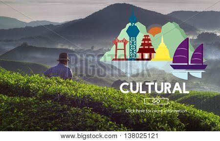 Cultural Ethnics Community Lifestyle Group Concept
