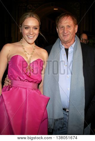 Chloe Sevigny and Mike Medavoy at the Los Angeles premiere of 'Zodiac' held at the Paramount Pictures Studios in Hollywood, USA on March 1, 2007.