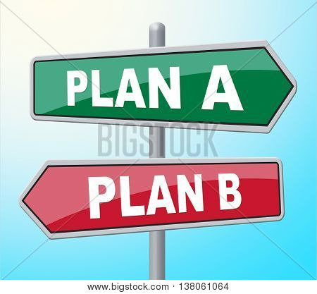 Plan Ab Represents Template Procedure And Display