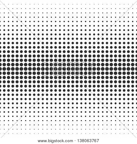 Abstract Seamless Pattern. Halftone Pattern. Seamless Pattern with Dots. Black Pattern . Vector Pattern. Halftone Dots Pattern . Vector Seamless Pattern.