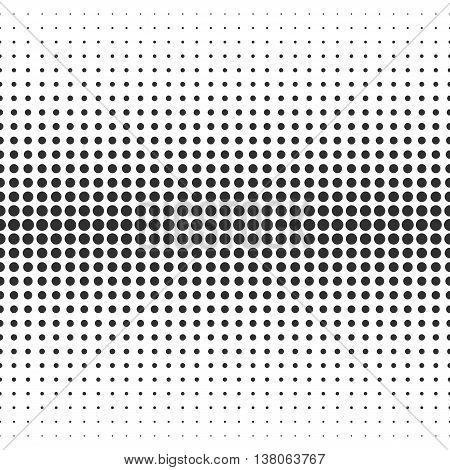 Abstract Seamless Pattern. Halftone Pattern. Seamless Pattern with Dots. Black Pattern . Vector Pattern. Halftone Dots Pattern . Vector Seamless Pattern.