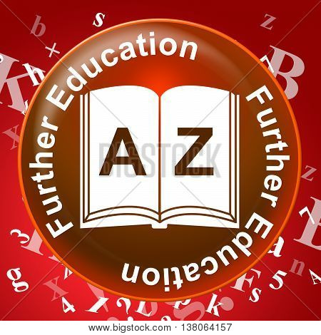 Further Education Represents School Tertiary And Learning