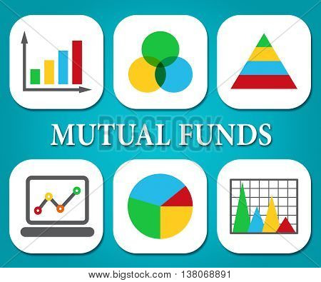 Mutual Funds Means Stock Market And Charts