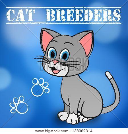 Cat Breeders Represents Husbandry Reproducing And Mate