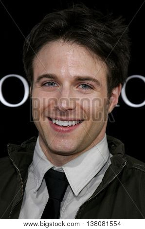 Mark Famiglietti at the Los Angeles premiere of 'Premonition' held at the Cinerama Dome in Hollywood, USA on March 12, 2007.