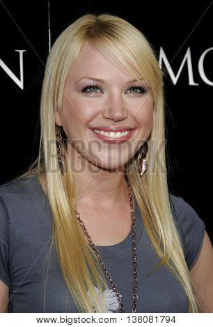 Adrienne Frantz at the Los Angeles premiere of 'Premonition' held at the Cinerama Dome in Hollywood, USA on March 12, 2007.