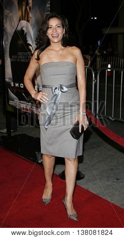 Constance Marie at the Los Angeles premiere of 'Shooter' held at the Mann Village Theatre in Westwood, USA on March 8, 2007.