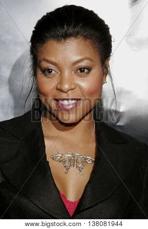 Taraji P. Henson at the Los Angeles premiere of 'Shooter' held at the Mann Village Theatre in Westwood, USA on March 8, 2007.