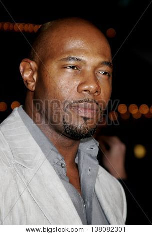 Antoine Fuqua at the Los Angeles premiere of 'Shooter' held at the Mann Village Theatre in Westwood, USA on March 8, 2007.