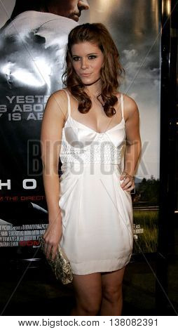 Kate Mara at the Los Angeles premiere of 'Shooter' held at the Mann Village Theatre in Westwood, USA on March 8, 2007.