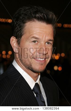 Mark Walhberg at the Los Angeles premiere of 'Shooter' held at the Mann Village Theatre in Westwood, USA on March 8, 2007.