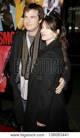 Jason Bateman and Amanda Anka at the Los Angeles premiere of 'Smokin' Aces' held at the Grauman's Chinese Theatre in Hollywood, USA on January 18, 2007.
