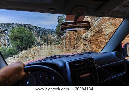 Off- road, Crete, Greece