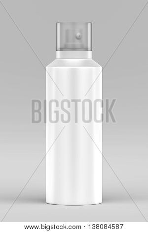 Cosmetic Bottle Container Isolated On White, 3D Rendering