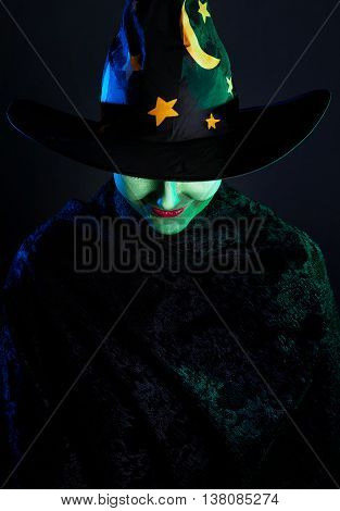 Wicked Witch At Halloween