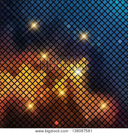 Abstract background with a mosaic pattern
