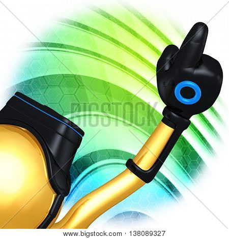Virtual Reality VR Goggles Glasses Headset Device Concept Image 3D Illustration