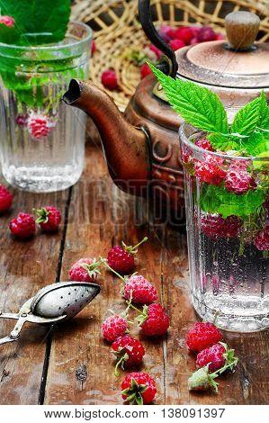 Cup Of Berry Tea