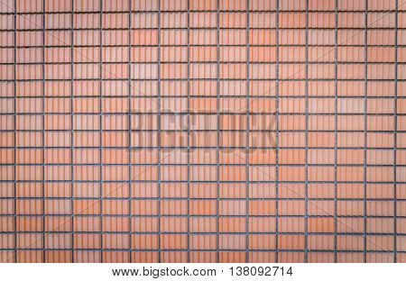 Brick wall pattern texture