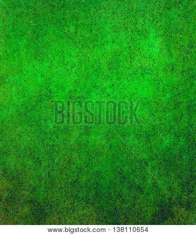 green background with old grunge background texture