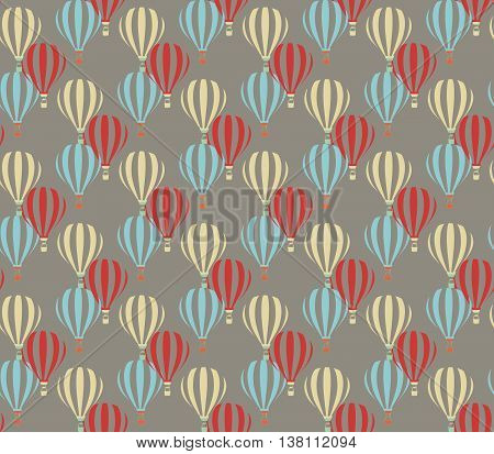 Multiple colors abstract ballons pattern . Vector