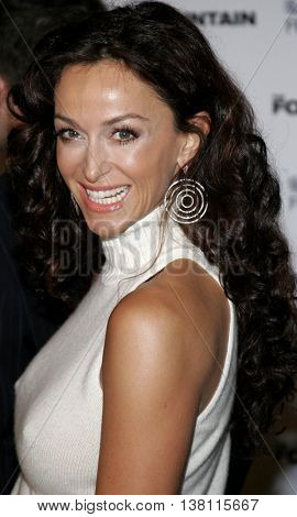 Sofia Milos at the AFI Centerpiece Gala Screening of 'The Fountain' held at the Grauman's Chinese Theatre in Hollywood, USA on November 11, 2006.