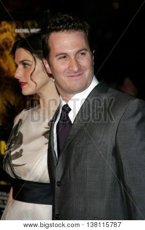 Darren Aronofsky and Rachel Weisz at the AFI Centerpiece Gala Screening of 'The Fountain' held at the Grauman's Chinese Theatre in Hollywood, USA on November 11, 2006.
