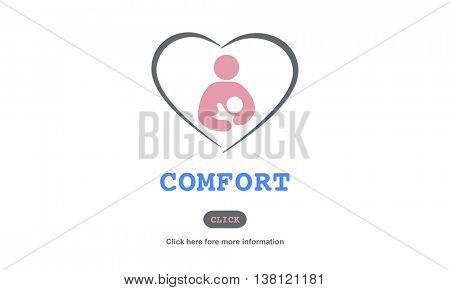 Child Training Comfort Affection Nursery Concept