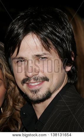 Freddy Rodriguez at the Los Angeles premiere of 'Harsh Times' held at the Crest Theater in Westwood, USA on November 5, 2006.