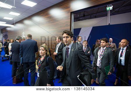 Prime Minister Of Canada Justin Trudeau On Nato Sammit