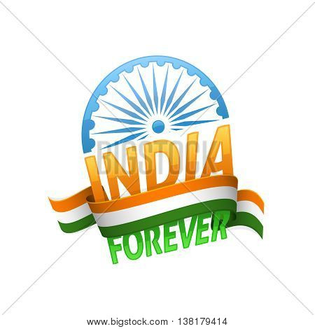 India independence day. Patriotic holiday of freedom and democracy.