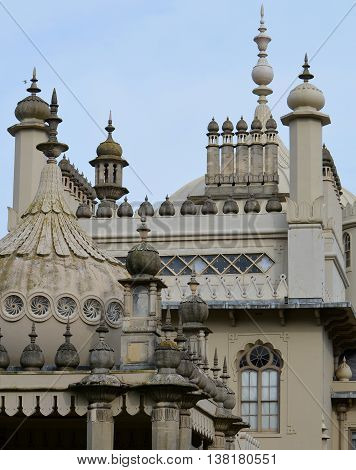 The Royal Pavilion (Brighton Pavilion) Roof Architecture