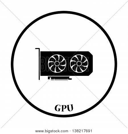 Gpu Icon Vector Illustration