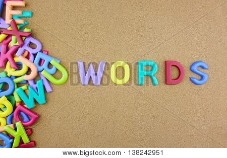 The colorful word