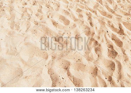 Beach Sand Background. Sandy Texture pattern close