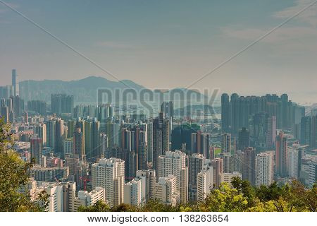 Cityscape Of West Kowloon