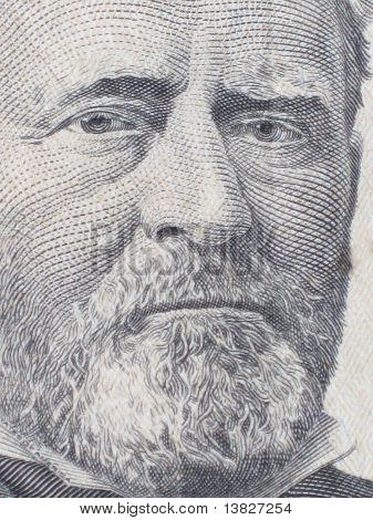 Ulysses S. Grant the 18th President of the United States poster