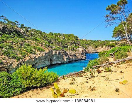 Cala Des Moro, Majorca - Bay With Famous Beach