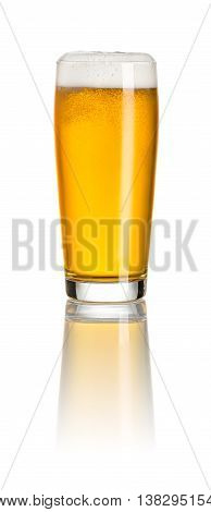 Pale Ale In A Willy Mug On A White Background