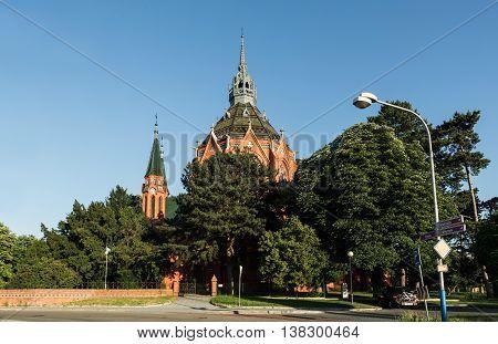 Church Breclav - Navstiveni pany Marie (saint Merry visit) South Moravia