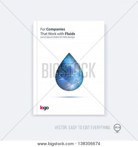 Brochure Template Vector Photo Free Trial Bigstock