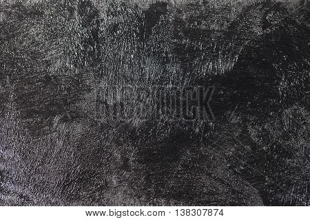 Grunge Black Background Concrete Old Texture Wall