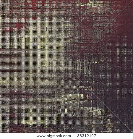 Scratched grunge background or spotted vintage texture. With different color patterns: yellow (beige); brown; gray; black; purple (violet); pink