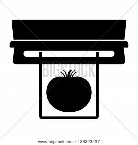 Vacuum sealer ( shade picture ) on white