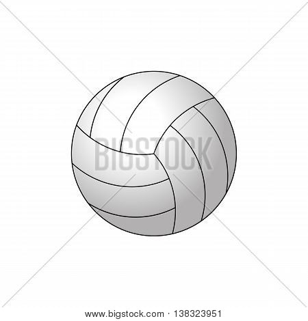 ball, vector, volleying, isolated, leisure, no, activity, white, interface, three-dimensional