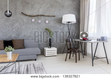 Minimalism In A Living Room